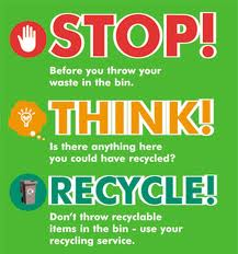 Stop. Think. Recycle.